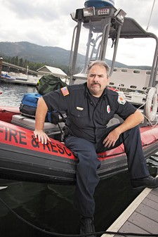 Youre on your own making decisions, says Bill Keeley about responding to emergencies on Kootenai County waters. This career doesnt work well for people who are wishy-washy. - YOUNG KWAK