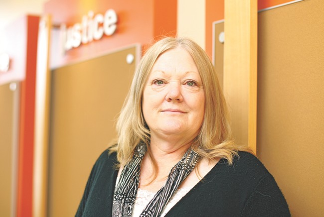 YWCA Programs Director Patty Wheeler is part of a new domestic violence policy group. - YOUNG KWAK