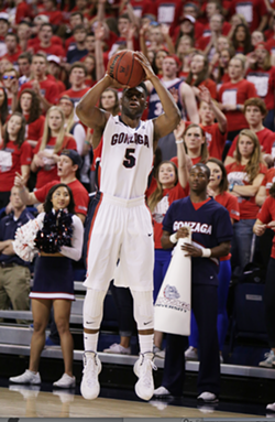 Gary Bell is just one Zag who has has a hot hand this season. The Bulldogs are leading the nation in 3-point shooting and overall field goal percentage. - YOUNG KWAK