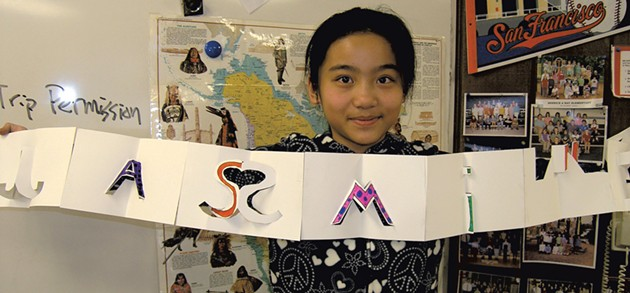 A Think 3D! student in Hanover, New Hampshire - COURTESY OF THINK 3D!