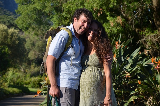 Adam and Jessica first met and fell in love in Cape Town, South Africa, in 1998. Now they're back for the first time together.