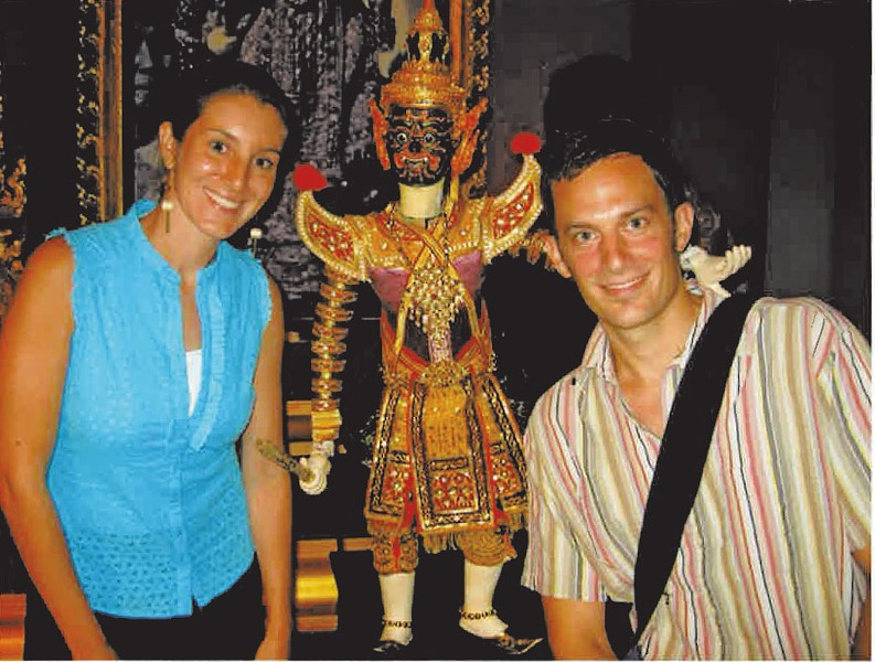 Alison and Jeff in Thailand