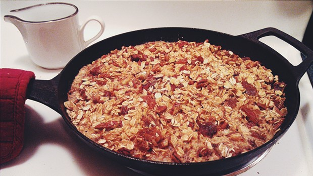 Oatmeal in the skillet - ERINN SIMON