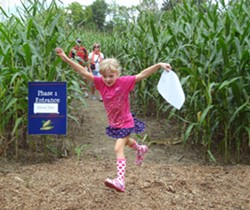 A CORN MAZE ADVENTURE AT FORT TICONDEROGA