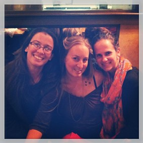 The doulas of Birth Journeys: Genevieve Henry, Jenna Thayer and Rachel Stanton.