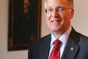 Former Governor James Douglas