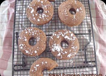 Home Cookin': Baked Pumpkin Doughnuts