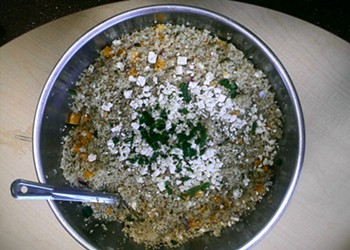 Home Cookin': Warm Quinoa Salad