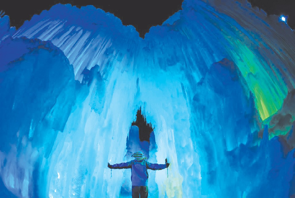 COURTESY OF ICE CASTLES