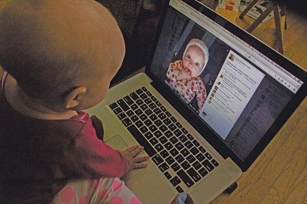 Joni monitors her digital footprint.