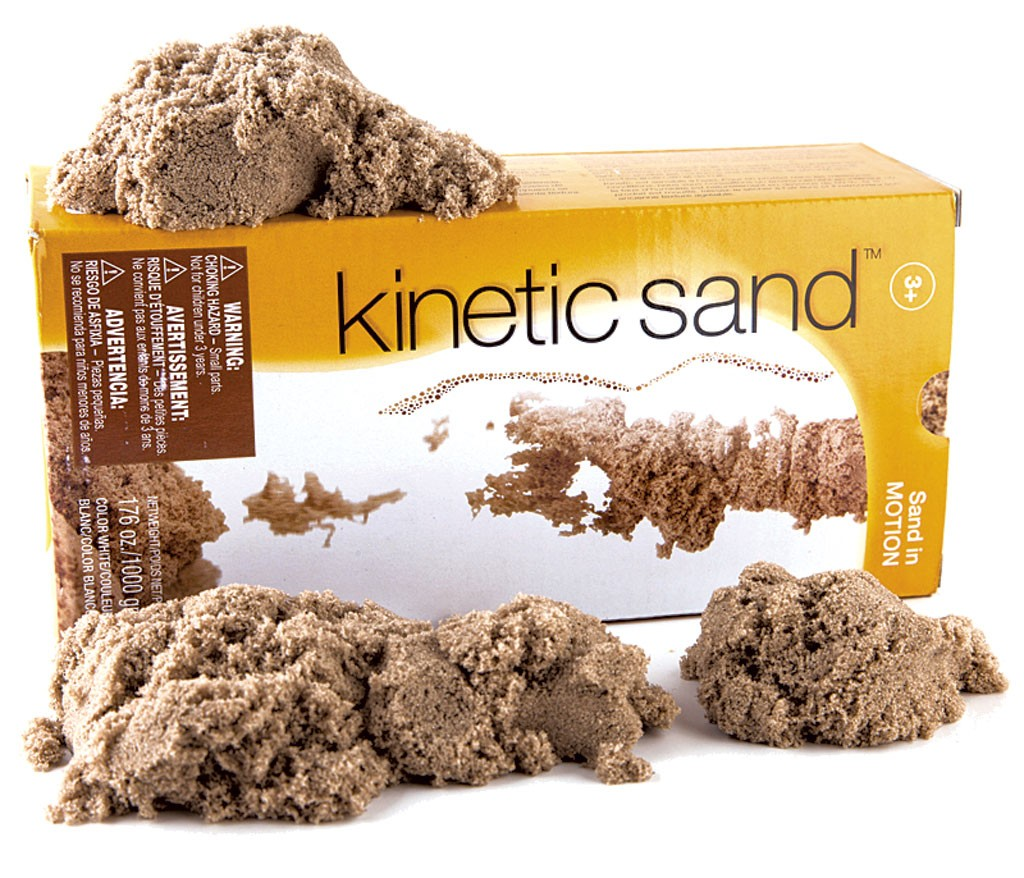 Kinetic Sand, $14.99 for a 1-kilo box at Buttered Noodles