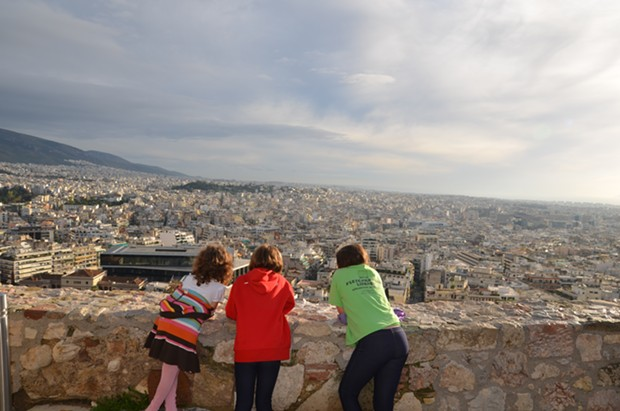 The view from the Acropolis in Athens - JESSICA LARA TICKTIN