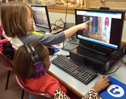 Orchard second graders coding - DONNA SULLIVAN-MACDONALD