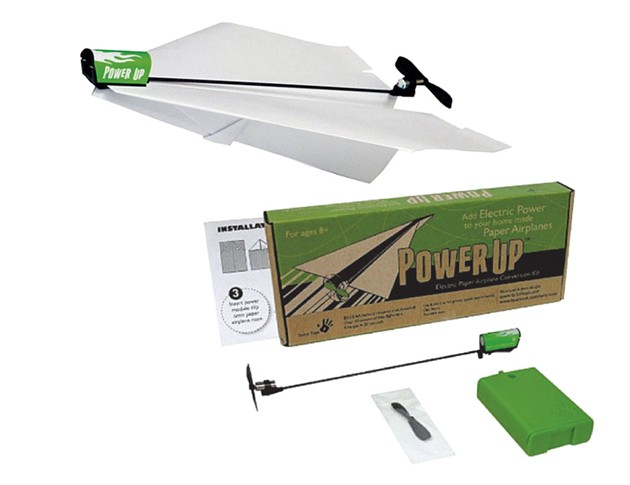 PowerUp Electric Paper Airplane Conversion Kit, $16.99 at Turner Toys