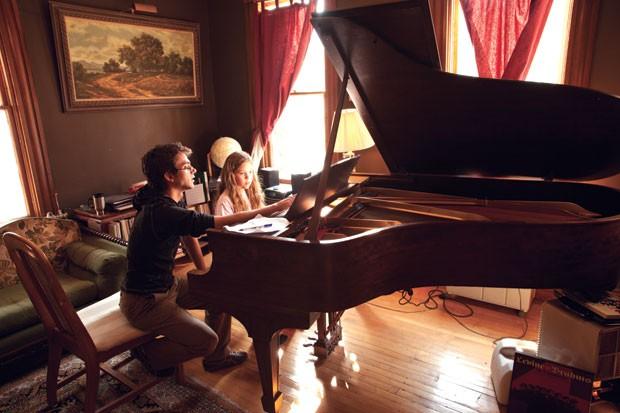 Randal Pierce and Addie DeLeonardis-Page