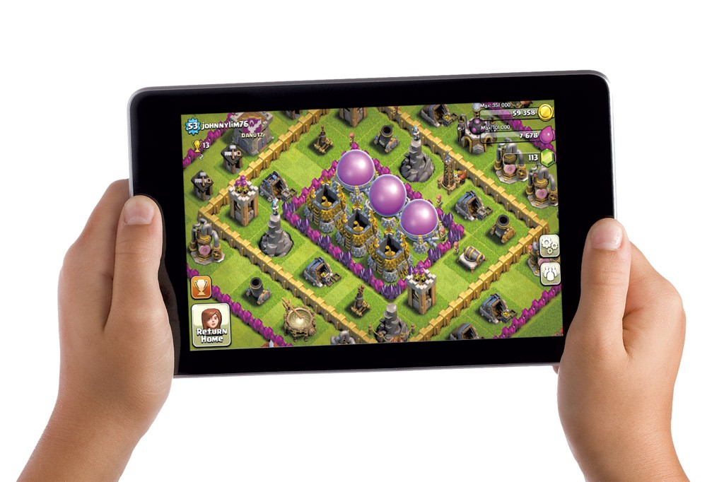 tablet online games on play