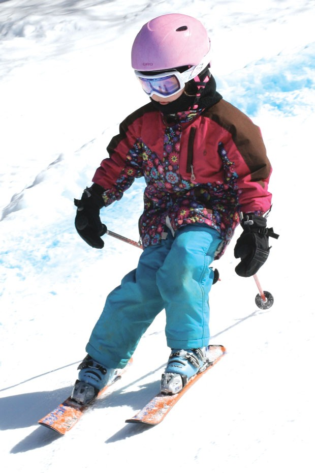 Skiing at the Middlebury College Snow Bowl