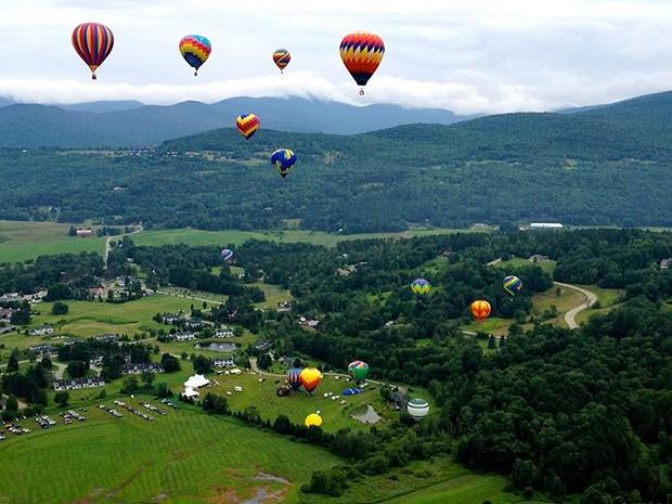 Stoweflake Balloon Festival