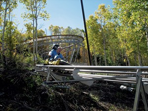 The Timber Ripper Mountain Coaster