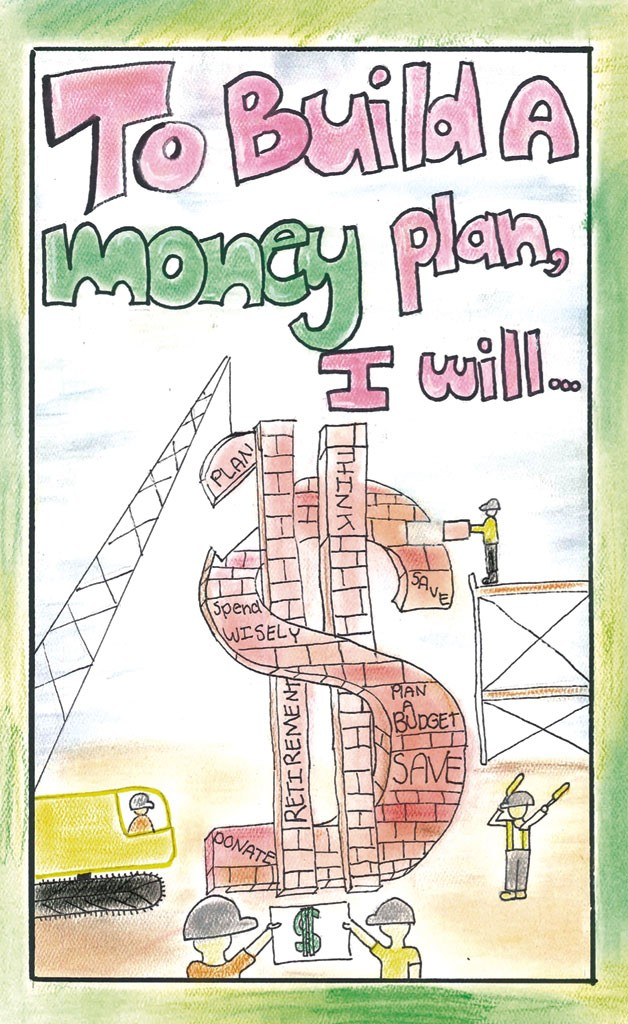 The winning middle school poster by Maggie Warren - COURTESY OF STATE TREASURER'S OFFICE