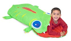 Turtle sleeping bag