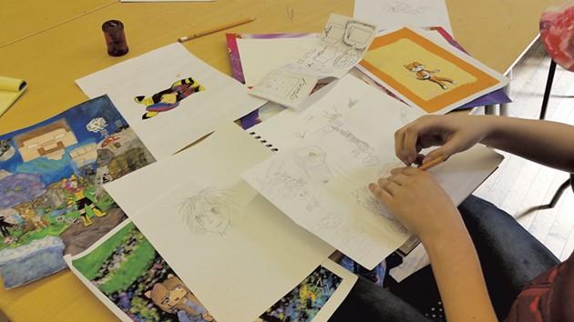 Drawings by Isabella Hall - SARAH YAHM