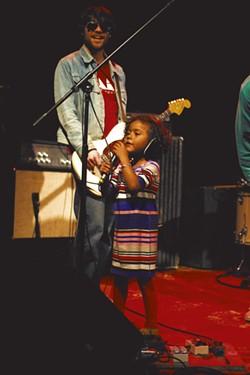 Josie takes the stage - GOLDSTEIN/HACKNEY