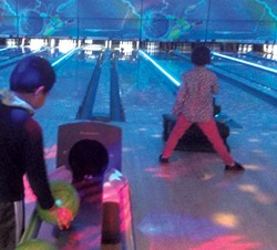 Bowling at Spare Time - CATHY RESMER