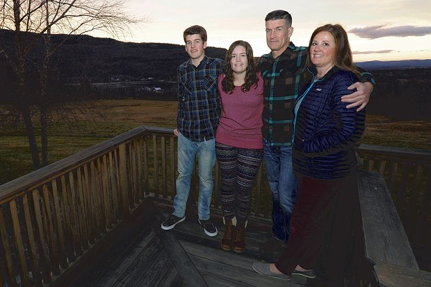 Dad: Art Mathisen, 44, chief operating officer, Copley Hospital - Mom: Jenni Mathisen, 43, stay-at-home mom - Kids: sons Blair, 20 (not pictured), and Sam, 15; daughter, Emma, 17