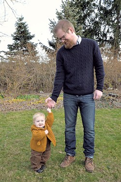 The author and his daugher, Sage - BRETT SIGURDSON