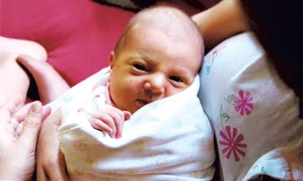 Alison's daughter, Mira
