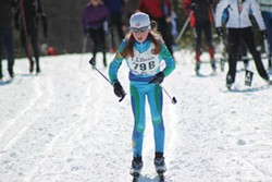 A young skier at Craftsbury Outdoor Center - PAUL BIERMAN