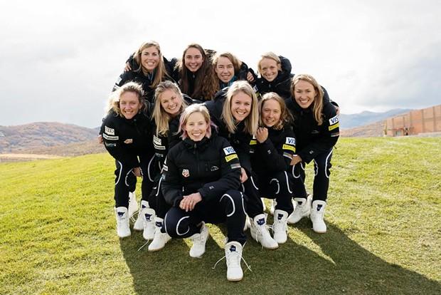 Members of the Women's U.S. Ski Team - COURTESY OF CRAFTSBURY OUTDOOR CENTER