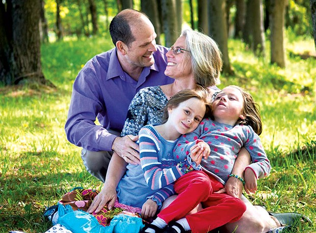 Sylvie and family - COURTESY OF LARISSA BARRESI PHOTOGRAPHY