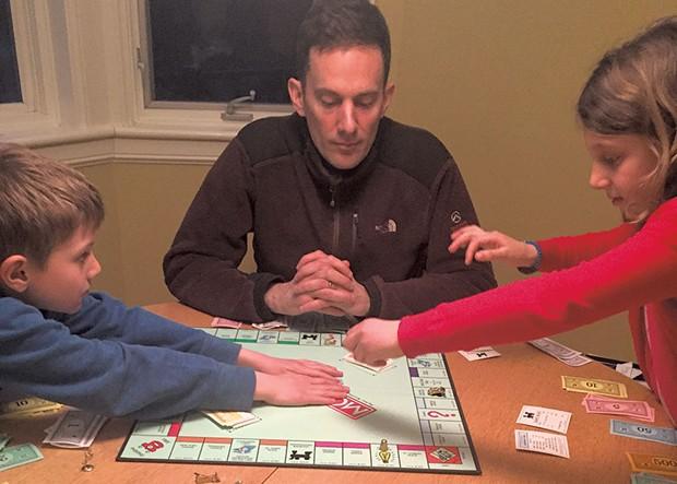 Game night at the Novak household - ALISON NOVAK
