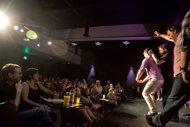 """Good Clean Fun"" at Vermont Comedy Club - JAMES BUCK"