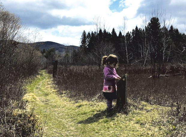 Zara Trump on the Robert Frost Interpretive Trail - MEGAN JAMES