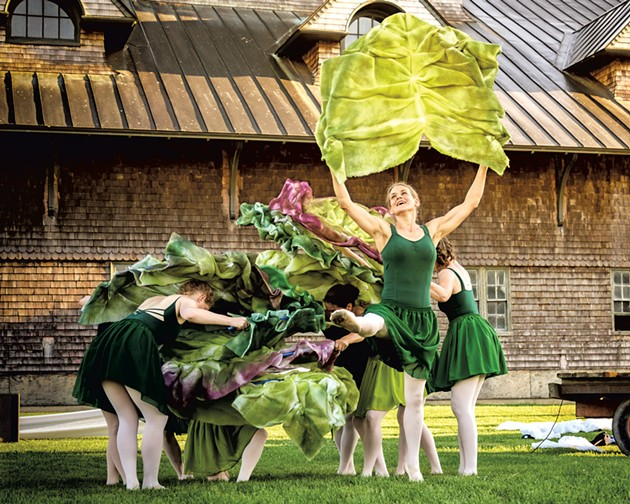 COURTESY OF THE FARM TO BALLET PROJECT