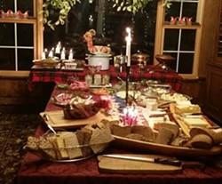 The julbord, or Swedish Christmas table - ASTRID LAGUE