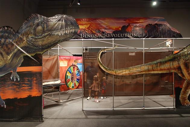 Dinosaur Revolution - COURTESY OF MONTSHIRE MUSEUM