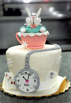 Papineau's Alice in Wonderland cake - JEB WALLACE-BRODEUR
