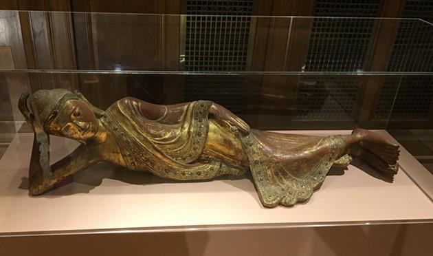 A reclining Buddha - SARAH TUFF DUNN