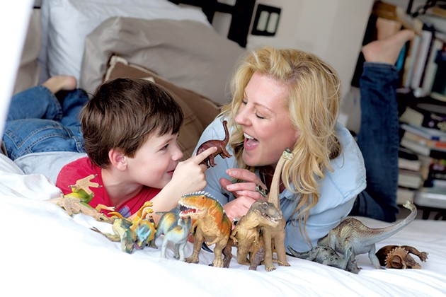 Nicole MIlls with son Henry - COURTESY OF NICOLE MILLS
