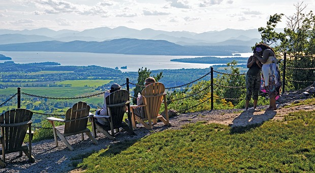 Mt. Philo summit - CAROLYN FOX