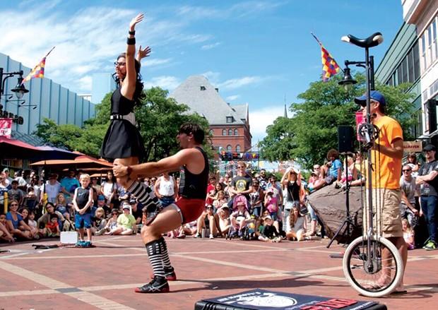 Festival of Fools, Burlington