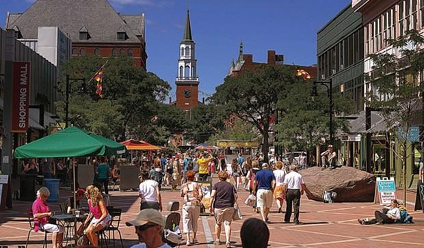 Church Street Marketplace - STEVE MEASE