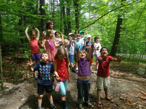 Kids in Hubbard Park - COURTESY OF MONTPELIER PARKS DEPARTMENT