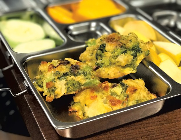 Broccoli and cheese patties - ALISON NOVAK