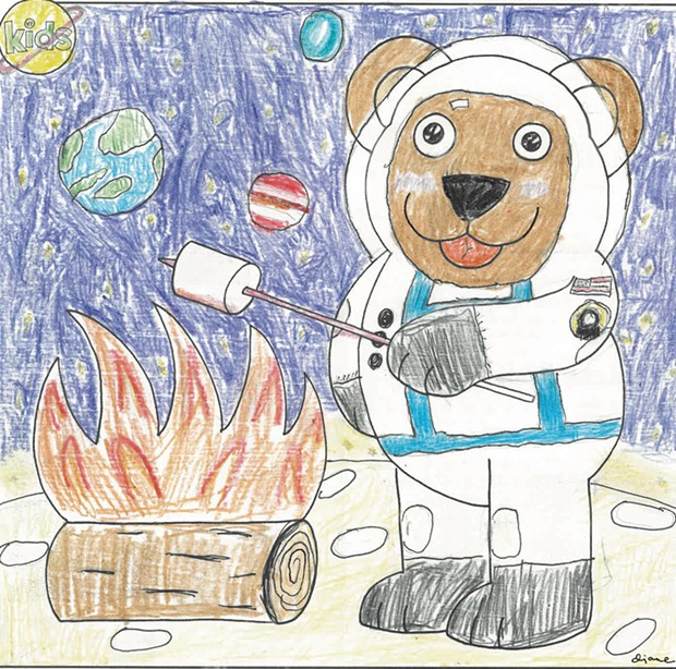 S'mores in Space
