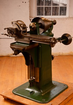 A milling machine at the Precision Museum - COURTESY OF THE PRECISION MUSEUM